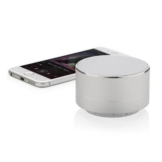 Aluminum wireless speaker