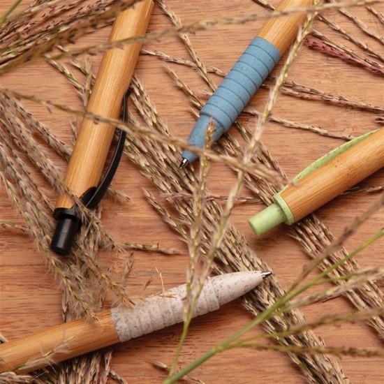 Bamboo & wheat straw pen