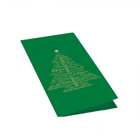 Christmas card Tannenbaum