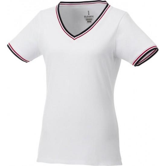 Women's pique t-shirt. ELEVATE.