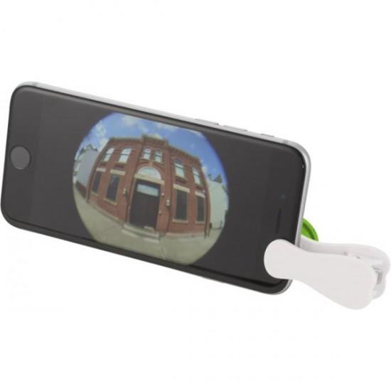 Fish-eye smartphone camera lens