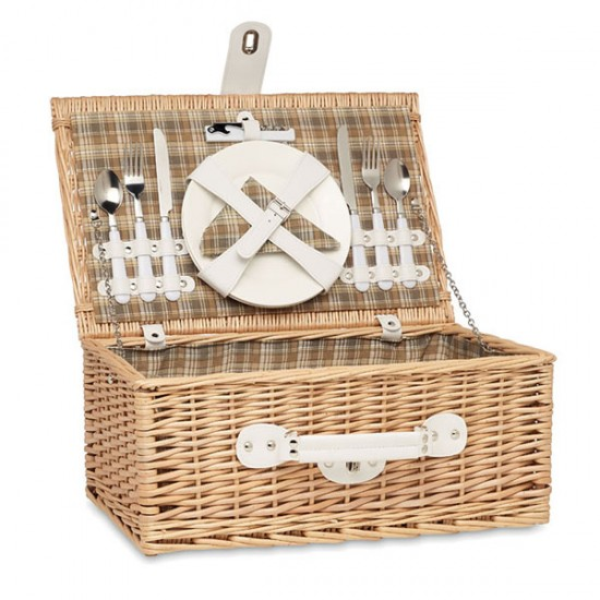 Picnic basket for two people
