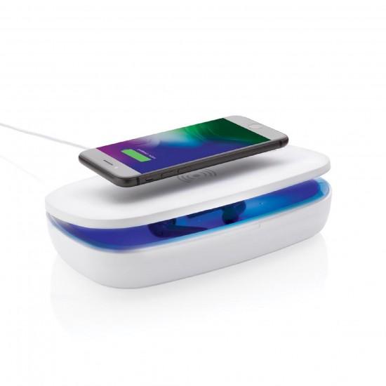 UV-С стерилизираща кутия с безжично зарядно