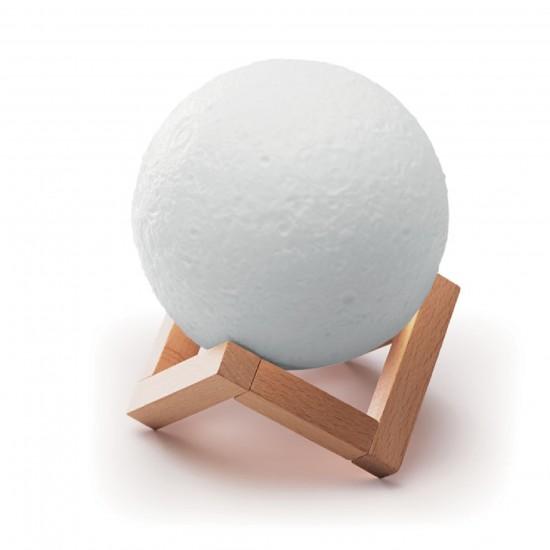 Лампа Луна с вграден Bluetooth говорител.